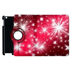 Christmas Star Advent Background Apple Ipad 3/4 Flip 360 Case