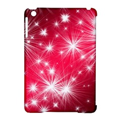 Christmas Star Advent Background Apple Ipad Mini Hardshell Case (compatible With Smart Cover)