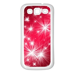 Christmas Star Advent Background Samsung Galaxy S3 Back Case (white)