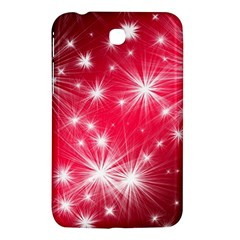 Christmas Star Advent Background Samsung Galaxy Tab 3 (7 ) P3200 Hardshell Case