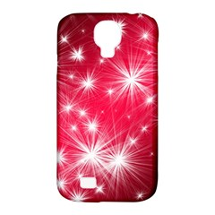 Christmas Star Advent Background Samsung Galaxy S4 Classic Hardshell Case (pc+silicone)