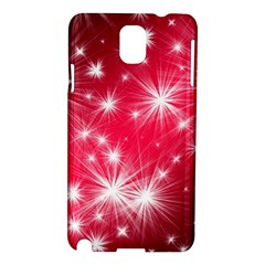 Christmas Star Advent Background Samsung Galaxy Note 3 N9005 Hardshell Case