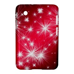 Christmas Star Advent Background Samsung Galaxy Tab 2 (7 ) P3100 Hardshell Case