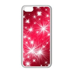 Christmas Star Advent Background Apple Iphone 5c Seamless Case (white)