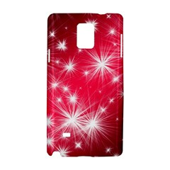 Christmas Star Advent Background Samsung Galaxy Note 4 Hardshell Case