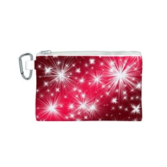 Christmas Star Advent Background Canvas Cosmetic Bag (s)