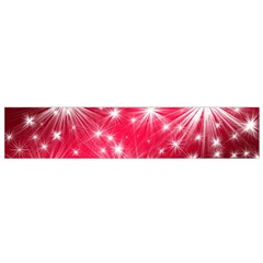 Christmas Star Advent Background Small Flano Scarf