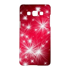 Christmas Star Advent Background Samsung Galaxy A5 Hardshell Case