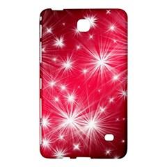 Christmas Star Advent Background Samsung Galaxy Tab 4 (8 ) Hardshell Case