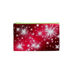 Christmas Star Advent Background Cosmetic Bag (xs)