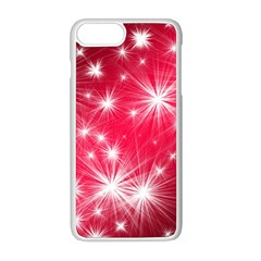 Christmas Star Advent Background Apple Iphone 8 Plus Seamless Case (white)