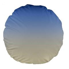 Aurora Large 18  Premium Round Cushions