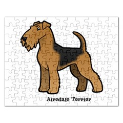 Airedale Terrier Jigsaw Puzzle (rectangle)