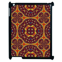 Geometric Pattern Apple Ipad 2 Case (black)