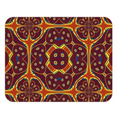 Geometric Pattern Double Sided Flano Blanket (large)