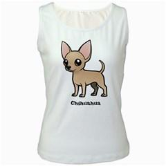 Chihuahua Women s Tank Top (white)