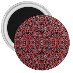 Exotic Intricate Modern Pattern 3  Magnets