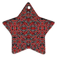 Exotic Intricate Modern Pattern Ornament (star)