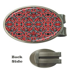 Exotic Intricate Modern Pattern Money Clips (oval)