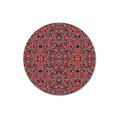 Exotic Intricate Modern Pattern Magnet 3  (round)