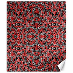 Exotic Intricate Modern Pattern Canvas 8  X 10