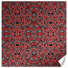 Exotic Intricate Modern Pattern Canvas 12  X 12