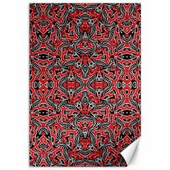 Exotic Intricate Modern Pattern Canvas 12  X 18