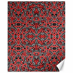 Exotic Intricate Modern Pattern Canvas 16  X 20