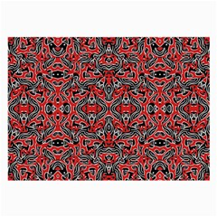 Exotic Intricate Modern Pattern Large Glasses Cloth (2 Side)