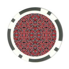 Exotic Intricate Modern Pattern Poker Chip Card Guard