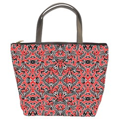 Exotic Intricate Modern Pattern Bucket Bags