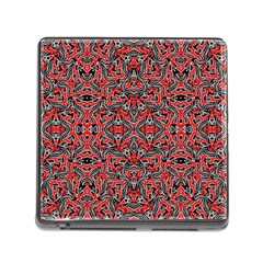 Exotic Intricate Modern Pattern Memory Card Reader (square)