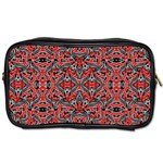 Exotic Intricate Modern Pattern Toiletries Bags 2-Side Front