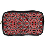 Exotic Intricate Modern Pattern Toiletries Bags 2-Side Back