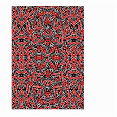 Exotic Intricate Modern Pattern Large Garden Flag (two Sides)