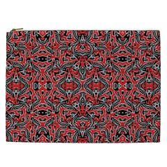 Exotic Intricate Modern Pattern Cosmetic Bag (xxl)