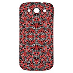 Exotic Intricate Modern Pattern Samsung Galaxy S3 S Iii Classic Hardshell Back Case