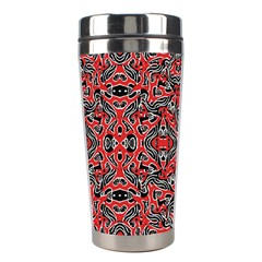 Exotic Intricate Modern Pattern Stainless Steel Travel Tumblers