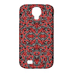 Exotic Intricate Modern Pattern Samsung Galaxy S4 Classic Hardshell Case (pc+silicone)