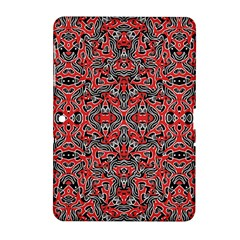 Exotic Intricate Modern Pattern Samsung Galaxy Tab 2 (10 1 ) P5100 Hardshell Case