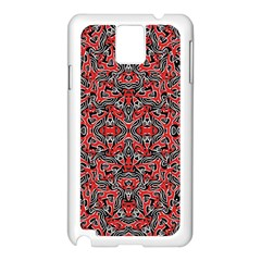Exotic Intricate Modern Pattern Samsung Galaxy Note 3 N9005 Case (white)