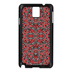 Exotic Intricate Modern Pattern Samsung Galaxy Note 3 N9005 Case (black)