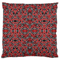 Exotic Intricate Modern Pattern Large Flano Cushion Case (one Side)