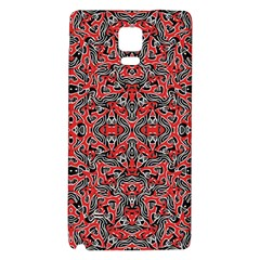 Exotic Intricate Modern Pattern Galaxy Note 4 Back Case