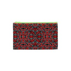 Exotic Intricate Modern Pattern Cosmetic Bag (xs)