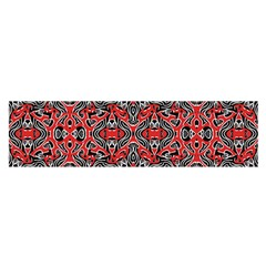 Exotic Intricate Modern Pattern Satin Scarf (oblong)