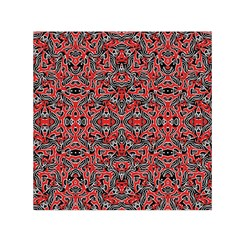 Exotic Intricate Modern Pattern Small Satin Scarf (square)