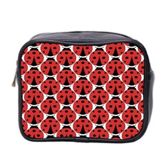 Ladybugs Pattern Mini Toiletries Bag 2 Side