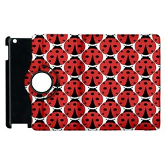 Ladybugs Pattern Apple Ipad 3/4 Flip 360 Case