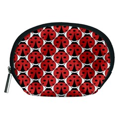 Ladybugs Pattern Accessory Pouches (medium)